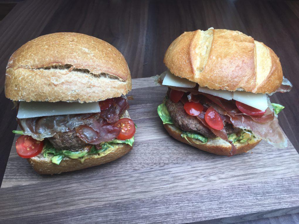 Burger - italienische Art